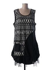 Robe mi-longue noir L33 pour femme seconde vue