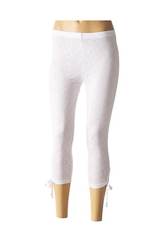 Legging blanc L33 pour femme