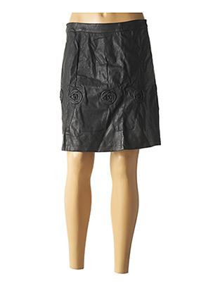 Jupe courte noir L33 pour femme