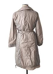 Imperméable/Trench gris L33 pour femme seconde vue