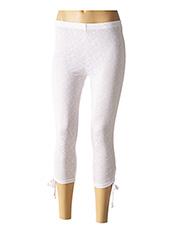 Legging blanc L33 pour femme seconde vue