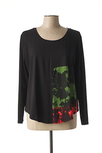 T-shirt manches longues noir ALEMBIKA pour femme