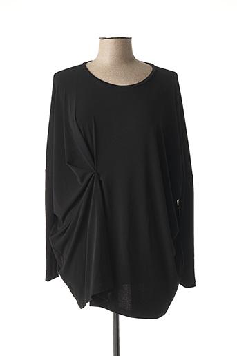 T-shirt manches longues noir CREA CONCEPT pour femme
