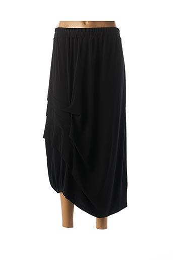 Jupe mi-longue noir CREA CONCEPT pour femme