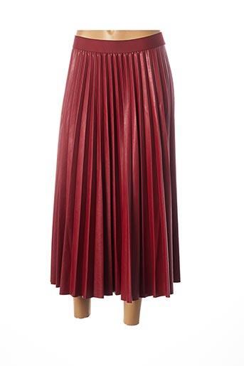 Jupe longue rouge B.YU pour femme
