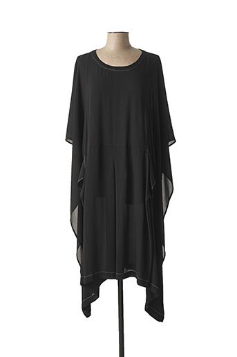 Robe mi-longue noir CREA CONCEPT pour femme