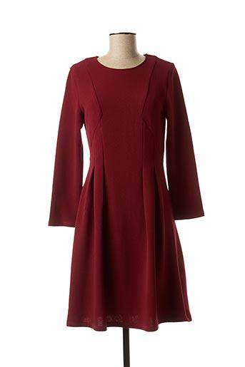 Robe mi-longue rouge AKOZ DE TOI pour femme