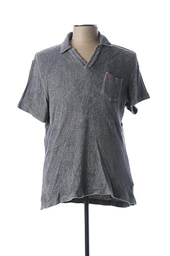 Polo manches courtes gris NAPAPIJRI pour homme
