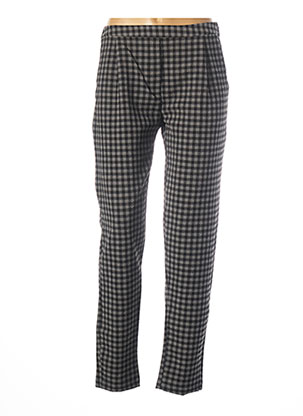 Pantalon chic gris KOKOMARINA pour femme