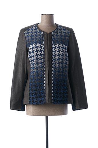 Veste casual bleu MERI & ESCA pour femme