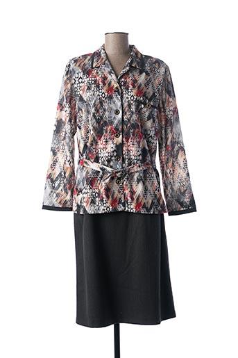 Veste/robe gris FRANCE RIVOIRE pour femme