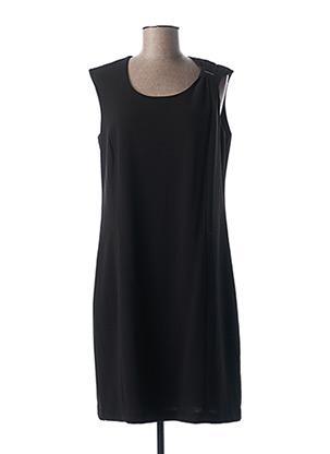 Robe mi-longue noir FRANCE RIVOIRE pour femme