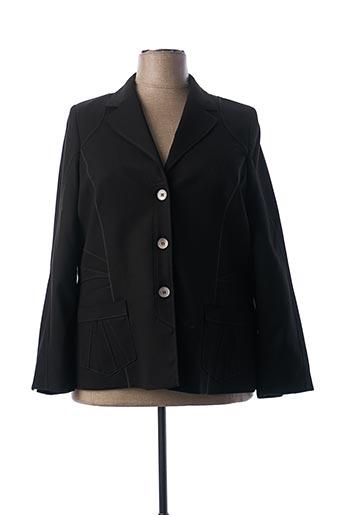 Veste chic / Blazer noir IMPULSION pour femme