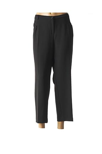Pantalon 7/8 noir GUY DUBOUIS pour femme