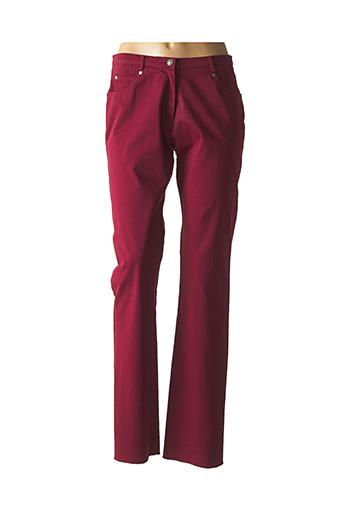 Pantalon casual rouge JUMFIL pour femme