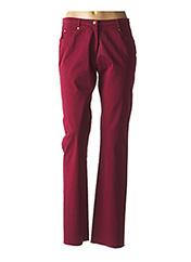 Pantalon casual rouge JUMFIL pour femme seconde vue