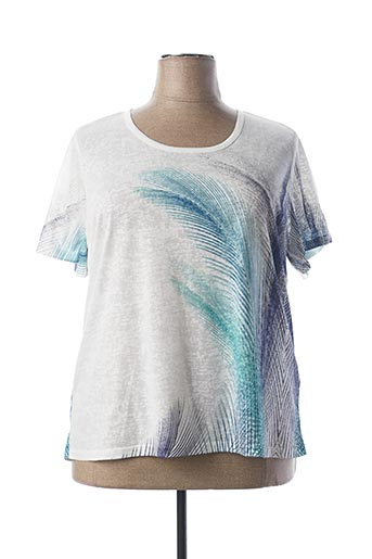 T-shirt manches courtes blanc DIANE LAURY pour femme