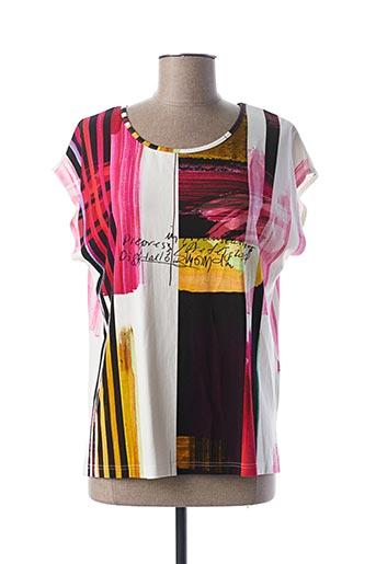 T-shirt manches courtes rose MERI & ESCA pour femme