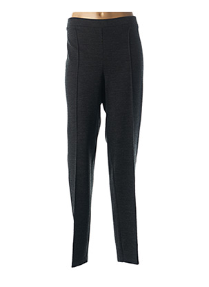 Pantalon casual gris FRANCE RIVOIRE pour femme
