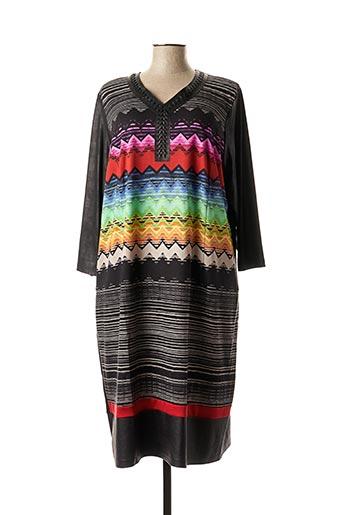 Robe courte noir GUY DUBOUIS pour femme