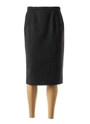 Jupe mi-longue noir WEINBERG pour femme