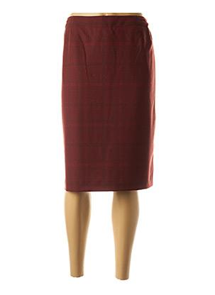 Jupe mi-longue rouge WEINBERG pour femme
