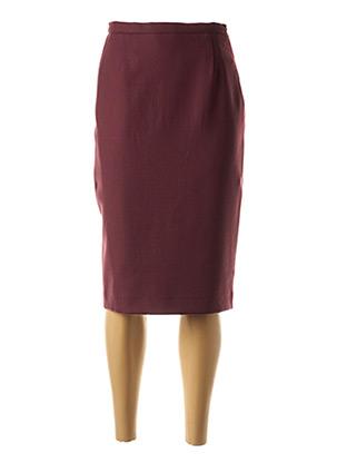 Jupe mi-longue violet WEINBERG pour femme