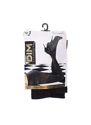 Collants noir DIM pour femme