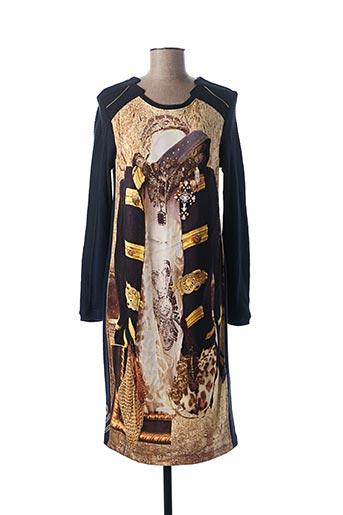Robe pull bleu ELISA CAVALETTI pour femme