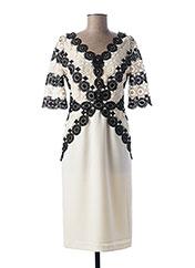 Robe mi-longue blanc MICHAELA LOUISA pour femme seconde vue
