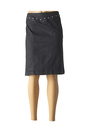 Jupe mi-longue bleu PAUL BRIAL pour femme