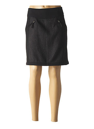 Jupe courte noir EVA KAYAN pour femme