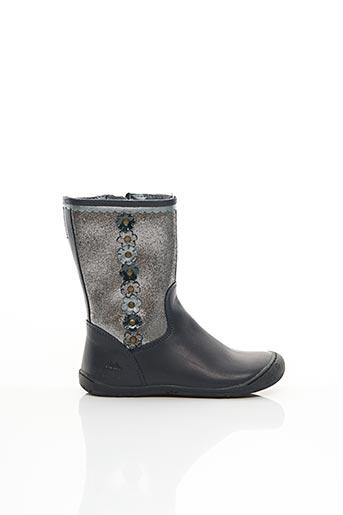 Bottines/Boots gris ASTER pour fille