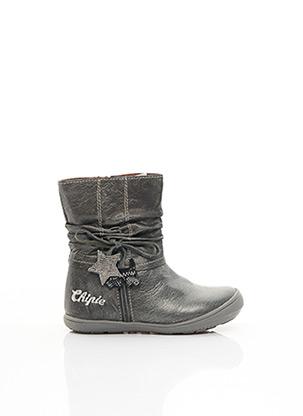 Bottines/Boots gris CHIPIE pour fille