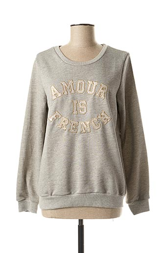 Sweat-shirt gris JUBYLEE pour femme