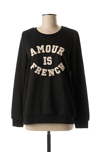 Sweat-shirt noir JUBYLEE pour femme