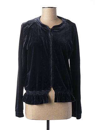 Veste casual bleu MADO ET LES AUTRES pour femme
