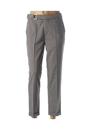 Pantalon 7/8 gris SALSA pour femme