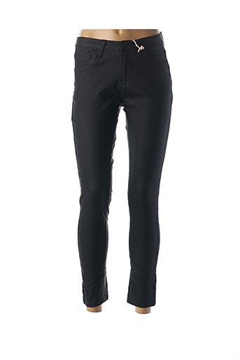 Pantalon casual noir AROMA pour femme