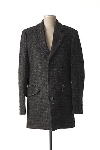 Manteau long noir SCOTCH pour homme