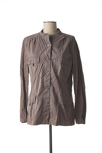 Veste casual gris BENSIMON pour femme