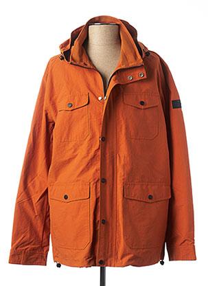 Imperméable/Trench orange FARAH VINTAGE pour homme