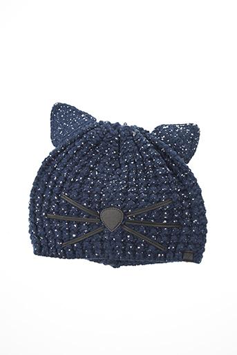 Bonnet bleu KARL LAGERFELD pour garçon