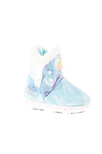 Chaussons/Pantoufles bleu DISNEY pour fille