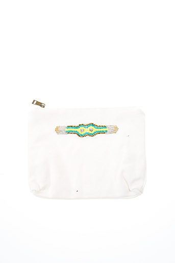 Pochette blanc AMENAPIH pour femme