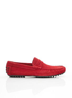 Chaussures bâteau rouge MARVIN&CO pour homme
