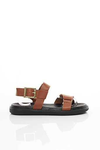 Sandales/Nu pieds marron BIANCO. pour femme
