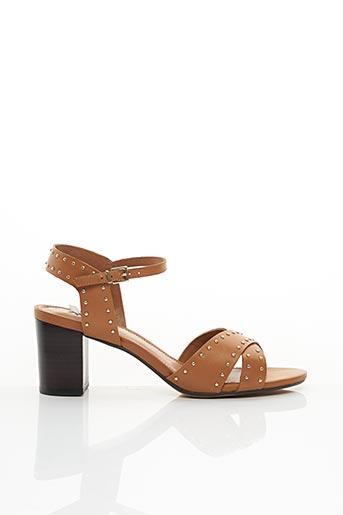 Sandales/Nu pieds marron DUNE LONDON pour femme