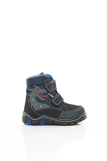 Bottines/Boots bleu RICOSTA pour garçon