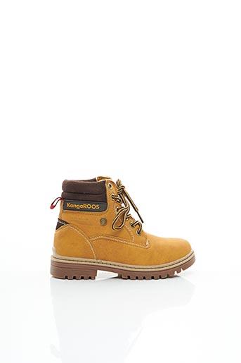 Bottines/Boots jaune KANGAROOS pour garçon